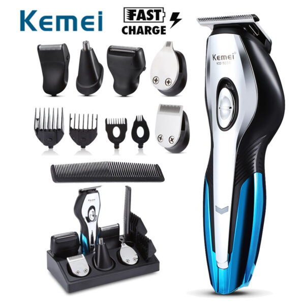 11 in 1 Electric Hair Trimmers Rechargeable Hair Clipper Electric Shaver Beard