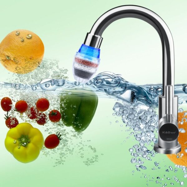 Hot Worldwide Coconut Carbon Home Kitchen Faucet Tap Water Clean Purifier Filter C