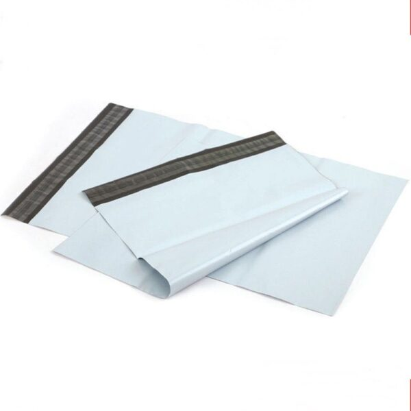 150pcs Lot White Plastic Sealing Shipping Package Mailer Bag Self adhesive Post Mailing Express Poly Courier 1