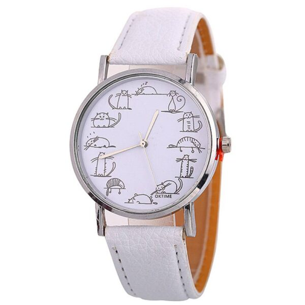 img 3 watches women fashion watch 2018 Cat patterned women s watches sell like hot cakes in Europe