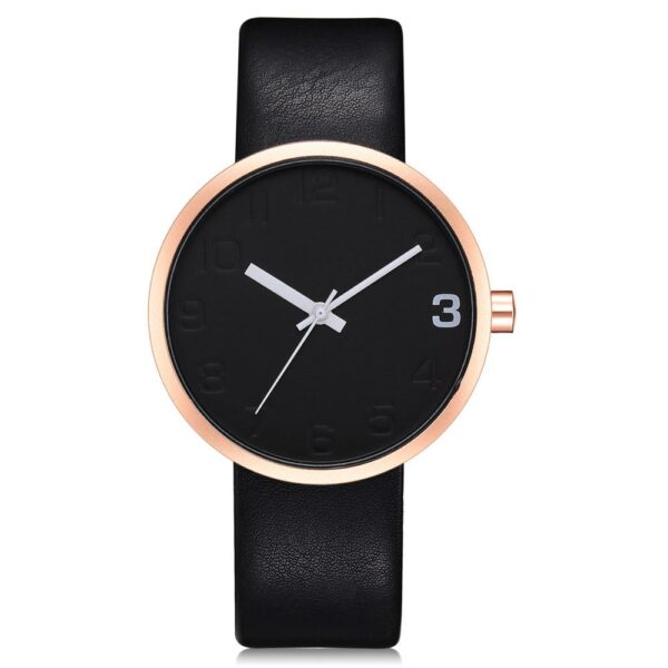 TOMI Fashion Casual Men s Rounded Bussines Retro Design Leather Band Watch Relogio Masculino Erkek 107