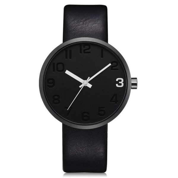 TOMI Fashion Casual Men s Rounded Bussines Retro Design Leather Band Watch Relogio Masculino Erkek 110