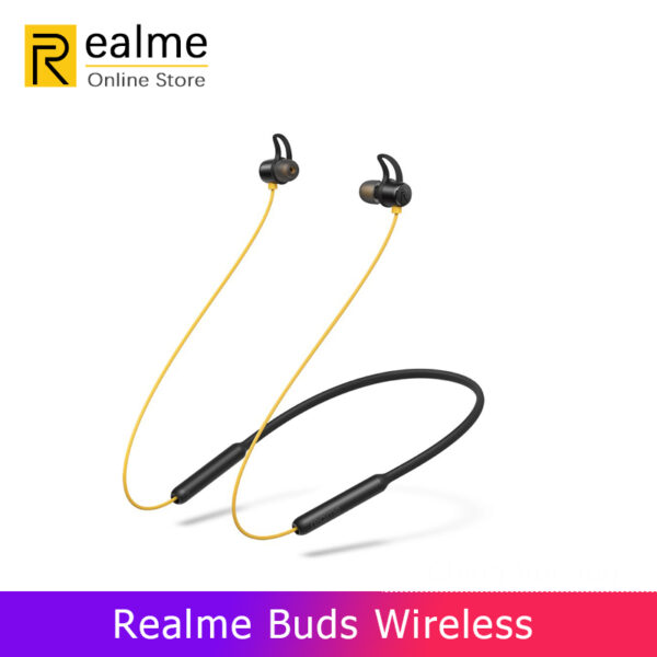 OPPO Realme Buds Wireless Bluetooth 5.0 Headset 12 Hours Battery Life Magnetic C