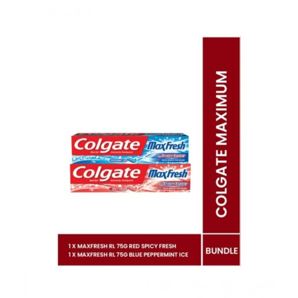 colgate maxfresh toothpaste 75g pack of 2