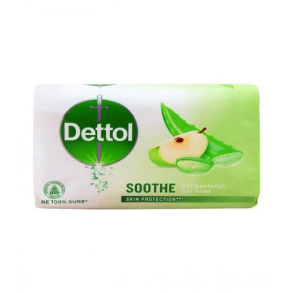 dettol soothe soap 130gm