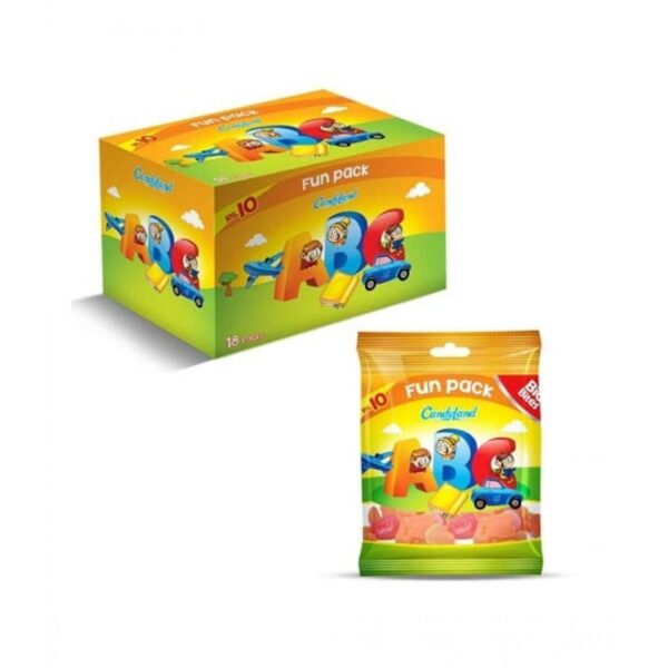 candyland abc jelly pack of 18pcs