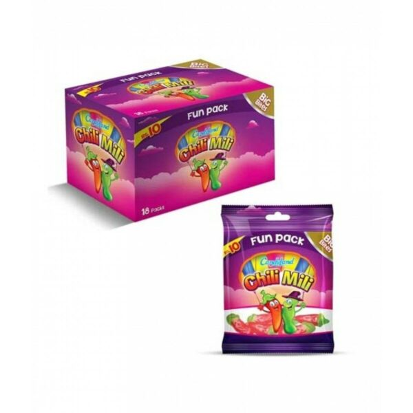 candyland chilli mili jelly pack of 18pcs