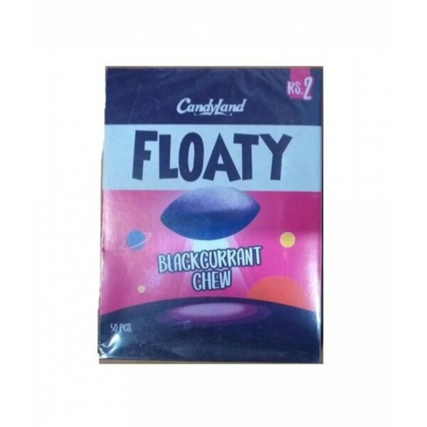 candyland floaty black currant chew pack of 50pcs