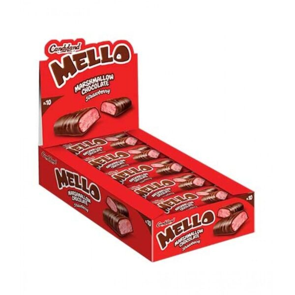 candyland mello bar strawberry marshmallow pack of 18pcs