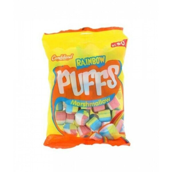 candyland rainbow puff marshmallow party pack